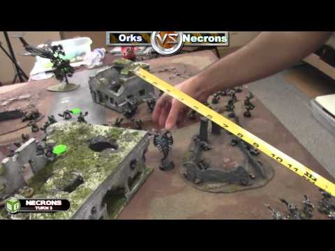 Necrons vs Orks Warhammer 40k Battle Report - Waaagh! Batrep Ep 15 - Part 2/5