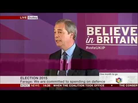 Nigel Farage speech on our Armed Forces
