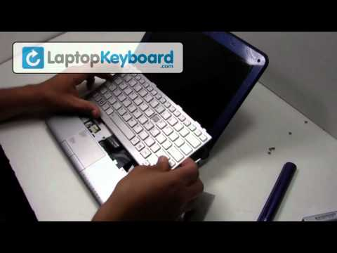 toshiba keyboard installation guide replacement netbook