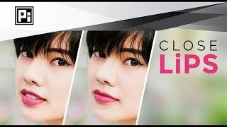 How to Close Lips in Photoshop