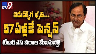 KCR announces TRS Manifesto || TRS Party Election Manifesto 2018