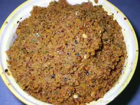 Usirikaya Pachhadi - Goose Berry Pickle - Indian Andhra Pickle