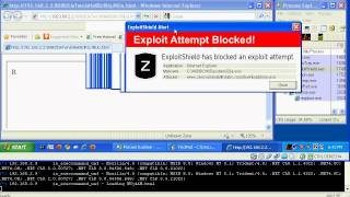 ExploitShield vs Internet Explorer 0-day vulnerability