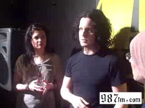 Dead Weather Interview with Kennedy from 98*7fm, Los Angeles