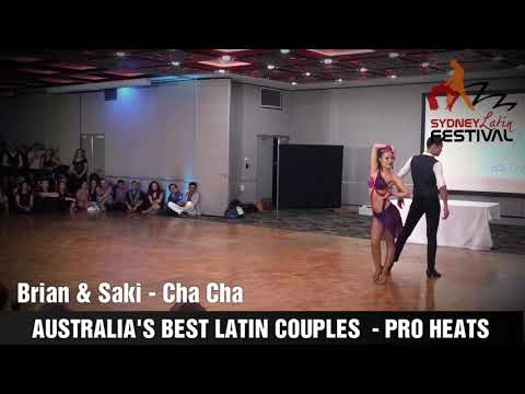 AUSTRALIA'S BEST LATIN COUPLES - BRIAN & SAKI