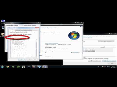 แก้ปัญหา คอมช้า คอมอืดได้ Windows 7