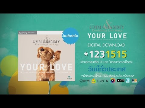 "อัลบั้ม GMM GRAMMY & EVERLASTING LOVE SONGS "" YOUR LOVE"""