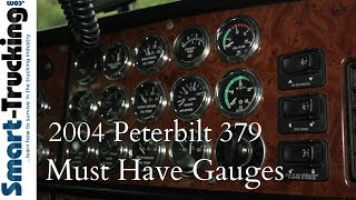 2004 Peterbilt 379 Gauges Tour