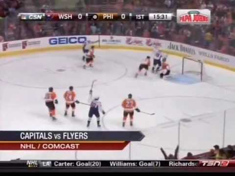Washington Capitals vs. Philadelphia Flyers Highlights on That's Hockey 2Nite (Mar. 31, 2013)