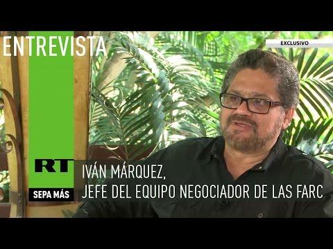 Entrevista con Iván Márquez, jefe del equipo negociador de las FARC