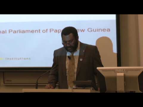 The Hon Theo Zurenuoc lecture: Restoring the people's parliament