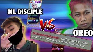ML DISCIPLE VS OREO, 10 YRS OLD MYTHIC - PATI DAW BREN TAKOT SAKANYA? - ALUCARD VS ALUCARD