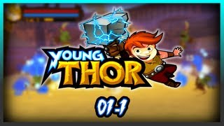 Young Thor [PSP] - #01-1. | Midgard - The Besieged Village