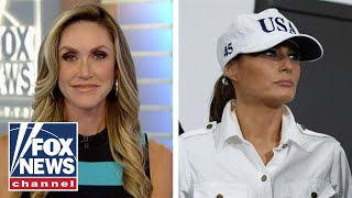 Lara Trump reacts to the left's smears against Melania