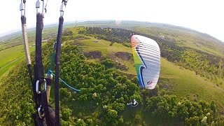 Great moments with U turn Infinity IIII , great Paraglider ,