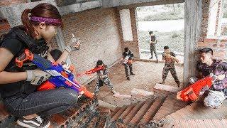 LTT Nerf War : SEAL X Warriors Nerf Guns Fight Attack Criminal Group Team revenge
