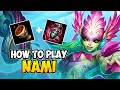 How to Play NAMI SUPPORT for Beginners | NAMI Guide Season 10 | League of Legends thumbnail