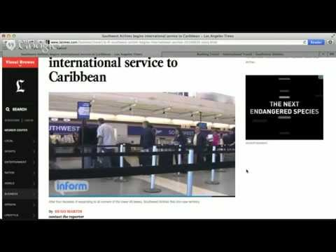 Southwest Airlines to Caribbean - The Skychi Travel Guide Live