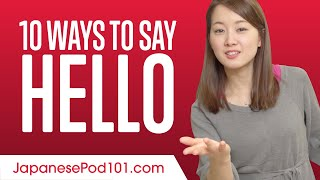 10 Ways to Say Hello in Japanese