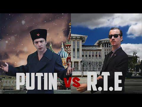 Putin vs R.T.E | Destansı Rap Savaşları