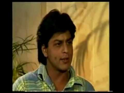 Shahrukh khan 1996 interview by rajiv shukla