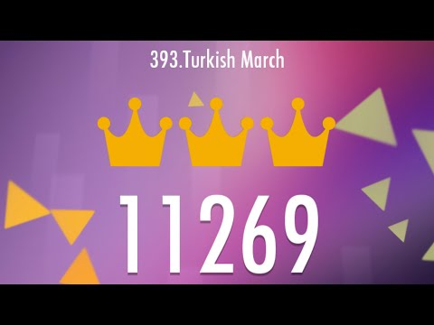 TURKISH MARCH 11269 SCORE NO REVIVE, ULTRA LEGENDARY WORLD RECORD IN PIANO TILES 2!!!!!!