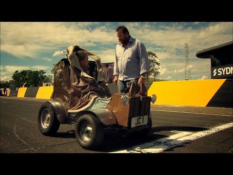 World's Smallest Car Vs Jet - Top Gear Festival Sydney