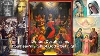 Veni Creator Spiritus ~ Latin / English ~ Come Creator Spirit