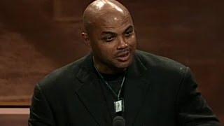 Charles Barkley's Basketball Hall of Fame Enshrinement Speech