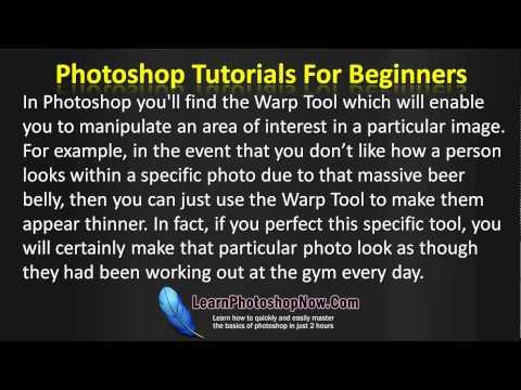 0 Photoshop Tutorials   Best Beginners Tools To Learn How To Use
