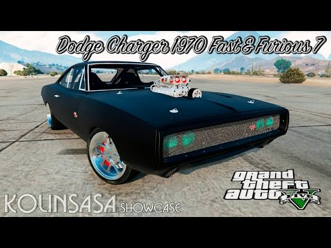 Dodge Charger 1970 Fast & Furious 7