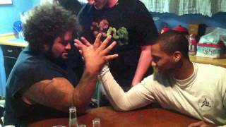 Big Show vs Booker T vs John Cena arm wrestling