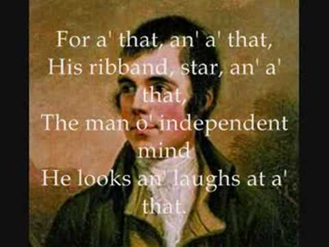Robert Burns - A Man