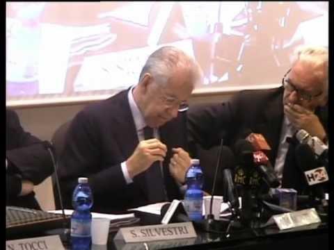 Mario Monti incontra l'Istituto Affari Internazionali