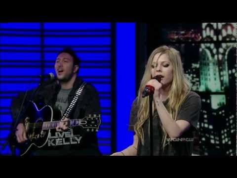 Avril Lavigne - Wish You Were Here  Live! With Kelly video