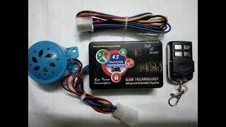 Smart & Safe Security System (GSM + Remote) Bike Security-বাইক চুরি অসম্ভব