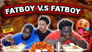 Which FATBOY Can Eat The SPICIEST WINGS IN THE WORLD First?