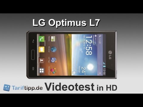 LG Optimus L7   Handytest in HD (deutsch)