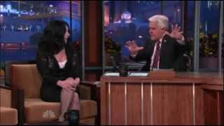 Cher on The Tonight Show with Jay Leno (24.11.2010) part 1