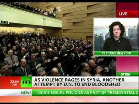 Saudi Arabia and Qatar push for UN decision on Syria