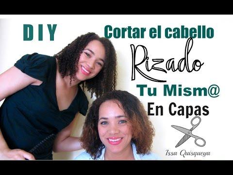 Cortar el pelo afro en capas tu mism@ (Petición Oscar)/How to cut your own afrohair