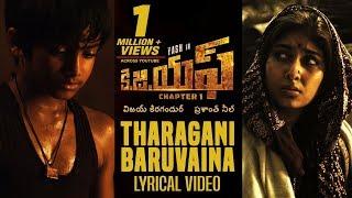 Tharagani Baruvaina Song With Lyrics | KGF Chapter 1 Telugu Movie | Yash, Srinidhi Shetty