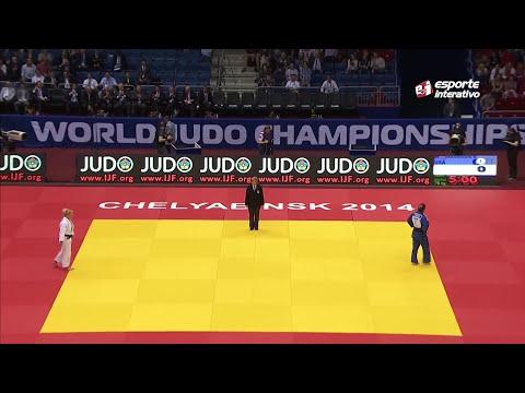 Mundial de Judô - Rússia -  Mayra Aguiar x Kayla Harrison