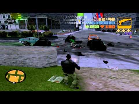 Grand Theft Auto III Rampas-Masacres-Ataques 7-13 de 20 (Full HD) 3D
