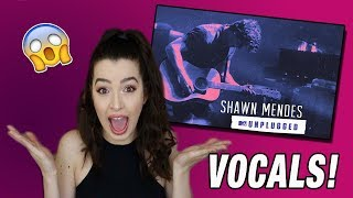 Download Lagu VOCALS FOR DAYS! -Shawn Mendes MTV Unplugged Album Reaction Gratis STAFABAND