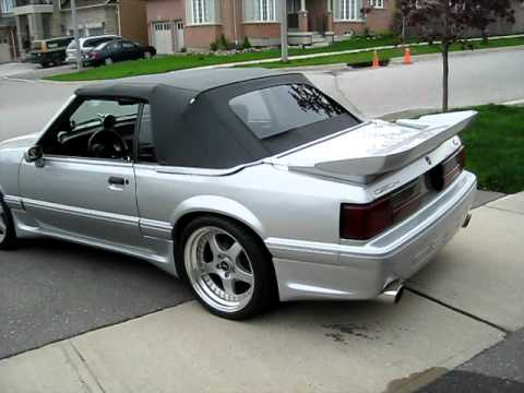 1990 Ford Mustang 5 0l With Tfs Camshaft And Flowmasters