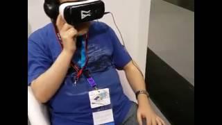 VR oyunları geliştiren Hologram'ın yetkilisiyle sohbet