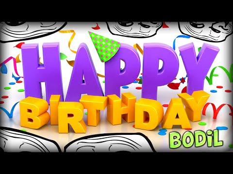 HAPPY BIRTHDAY BODIL, HAPPY BIRTHDAY! (Minecraft Coloria Parkour #1)
