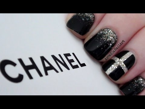 Chic Chanel Inspired Nails