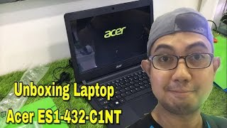 Unboxing Laptop Acer ES1-432-C1NT